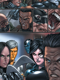 X-Force No.8 Group: X-23, Wolverine and Domino Wall Decal by Mike Choi