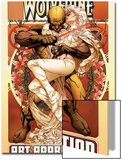 Wolverine Art Appreciation One-Shot Canvas Cover Cover: Wolverine and Emma Frost Prints by Joe Quesada