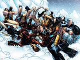 New X-Men No.45 Group: Cable, Wolverine and Caliban Plastskilt av Humberto Ramos