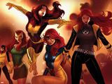X-Men Evolutions No.1: Jean Gray Plastic Sign by Paul Renaud