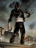 Daken: Dark Wolverine No.1: Daken Standing Plastic Sign by Giuseppe Camuncoli