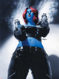 Mystique No.19 Cover: Mystique Plastic Sign