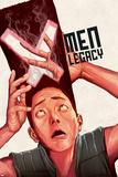 X-Men Legacy 16 Cover: Legion Plastic Sign by Mike Del Mundo
