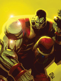 Chris Bachalo - X-Men: Colossus Bloodline No.3 Cover: Colossus Plastové cedule