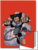 Wolverine No.19 Cover: Wolverine and Nightcrawler Screaming Art by Darick Robertson