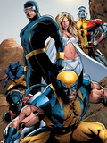 X-Men: Pixies And Demons Directors Cut Group: Wolverine Plastic Sign by Greg Land