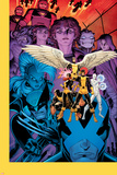 X-Men: Battle of the Atom 1 Cover: Jean, Iceman, Beast, Angel, Wolverine, Storm, Hayes, Molly Plastic Sign by Arthur Adams