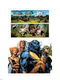 Astonishing X-Men No.32 Group: Beast, Brand, Abigail, Armor and Storm Plastic Sign by Phil Jimenez