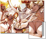 X-Men Evolutions No.1: Emma Frost Prints by Greg Tocchini
