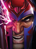 Uncanny X-Men No.516 Cover: Magneto Plastikskilte af Greg Land