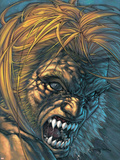 Weapon X No.28 Cover: Sabretooth Fighting Plastic Sign