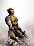 Wolverine No.14 Cover: Wolverine Kneeling Plastic Sign by Jae Lee