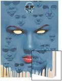 Mystique No.22 Cover: Mystique Wood Print
