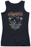 Juniors Tank Top: Aerosmith - Triangle Stars Tank Top