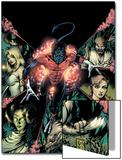 Nightcrawler No.12 Cover: Nightcrawler and Wolverine Posters by Darick Robertson