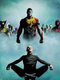 Heroic Age: X-Men No.1 Cover: Colossus, Wolverine, Storm, Rogue, and Magneto Wall Decal by Jae Lee