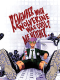 Chris Bachalo - Wolverine & The X-Men No.3 Cover: Quentin Quire Sitting in the Bathroom Plastové cedule