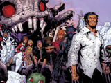Wolverine & The X-Men No.3: Iceman, Kitty Pryde, Quentin Quire, Broo, Beast, Wolverine, and Others Plastic Sign by Chris Bachalo