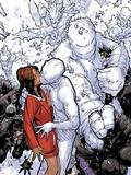 Chris Bachalo - Wolverine & The X-Men No.2: Iceman Kissing Kitty Pryde Plastové cedule
