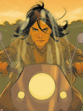 X-23 No.20: X-23 Riding Plastic Sign by Phil Noto