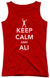 Juniors Tank Top: Ali - Keep Calm And Ali Tank Top