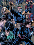 X-Men Forever 2 No.12: Cyclops, Nightcrawler, Shadowcat, Mystique, Jean Grey, Rogue, and Polaris Wall Decal by Rodney Buchemi