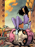 Ultimate X-Men No.88 Cover: Psylocke and Sentinel Plastic Sign by Yanick Paquette