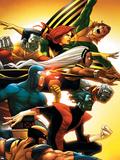Uncanny X-Men: First Class No.5 Cover: Wolverine Signes en plastique rigide par Roger Cruz