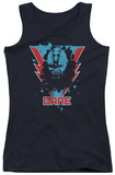 Juniors Tank Top: Dark Knight Rises - Bane Lightning Tank Top