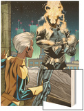 X-Men Forever 2 No.13: Storm Standing Wood Print by Robert Atkins