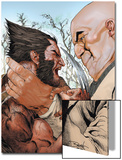 X-Men: Wolverine and Kingpin Fighting Cover Posters by Renato Guedes
