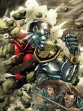 X-Men Forever No.11 Cover: Colossus Plastic Sign by Tom Grummett