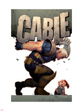 Cable No.9 Cover: Cable Plastikskilte af Ariel Olivetti