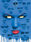 Mystique No.22 Cover: Mystique Plastic Sign