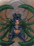 Excalibur No.7 Cover: Callisto and Professor X Plastic Sign