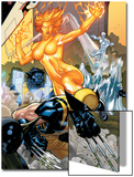 Secret Invasion: X-Men No.4 Cover: Wolverine and Phoenix Posters by Terry Dodson