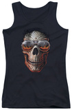 Juniors Tank Top: Anne Stokes - Hellfire Womens Tank Tops