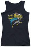 Juniors Tank Top: Batman - Batgirl Halftone Tank Top