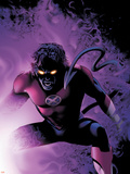 Nightcrawler No.4 Cover: Nightcrawler Plastic Sign by Greg Land