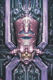 Cataclysm: Ultimate X-Men 1 Cover: Galactus Plastic Sign by Mariusz Siergiejew