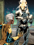 X-Men Forever 2 No.13: Storm Standing Plastic Sign by Robert Atkins