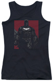 Juniors Tank Top: Dark Knight Rises - Bat Lines Tank Top