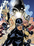 Uncanny X-Men No.505 Cover: Cyclops, Emma Frost and Dazzler Wall Decal by Terry Dodson