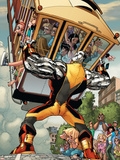 X-Men: Manifest Destiny No.3 Cover: Colossus Plastskilt av Humberto Ramos