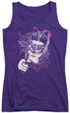 Juniors Tank Top: Dark Knight Rises - Masked Kitty Tank Top