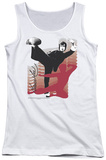 Juniors Tank Top: Bruce Lee - Kick It Tank Top
