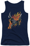 Juniors Tank Top: Dark Knight Rises - Fire Rises Tank Top