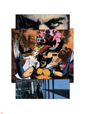 Wolverine: Under the Boardwalk No.1 Group: Wolverine Wall Decal by Tomm Coker