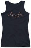 Juniors Tank Top: Batman Arkham Knight - Logo Tank Top
