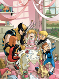 Wolverine And Power Pack No.2 Cover: Wolverine, Lightspeed, Energizer, Mass Master and Zero-G Plastic Sign by  Gurihiru